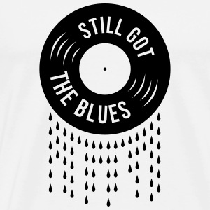 still got the blues Vinyl Schallplatte Tränen  Tops - Männer Premium T-Shirt