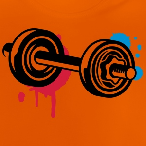 A dumbbell with graffiti Shirts - Baby T-Shirt