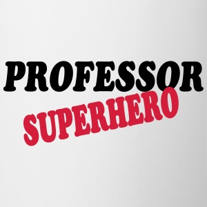 Professor superhero T-shirts - Mugg