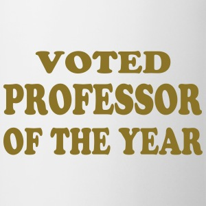 Voted professor of the year T-shirts - Mugg