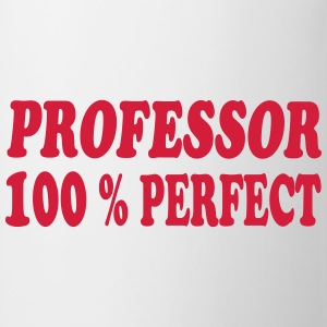 Professor 100 % perfect T-shirts - Mugg