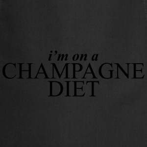 I'm on a champagne diet T-Shirts - Cooking Apron