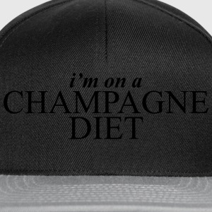 I'm on a champagne diet T-Shirts - Snapback Cap