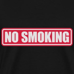no smoking Pullover & Hoodies - Männer Premium T-Shirt