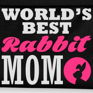 worlds best rabbit mom T-Shirts - Kids' Backpack