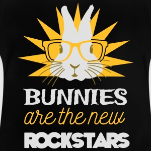 Bunnies are rockstars T-shirts - Baby-T-shirt