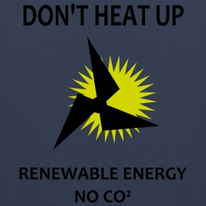 renewable energy Camisetas - Tank top premium hombre