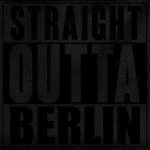 Straight outta Berlin T Shirt - Kinder Rucksack
