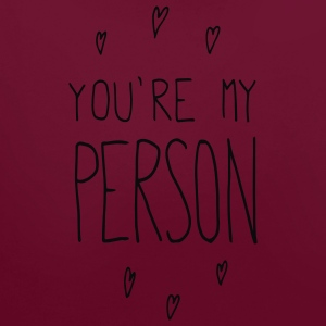 Pomegranate You are my person T-Shirts - Contrast Colour Hoodie