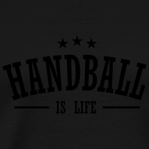 handball is life 3 Sportsklær - Premium T-skjorte for menn