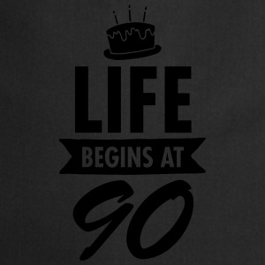 Life Begins At 90 Tazze & Accessori - Grembiule da cucina