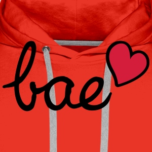 My lovely bae ❤ ❤ ❤ - Men's Premium Hoodie