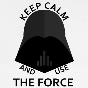 keep calm use the force Tee shirts - Casquette classique