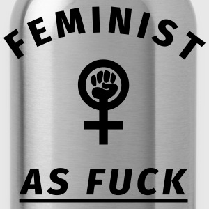 Feminist as Fuck T-Shirts - Trinkflasche