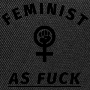 Feminist as Fuck T-Shirts - Snapback Cap