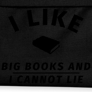 I like big books and I cannot lie T-Shirts - Kinder Rucksack