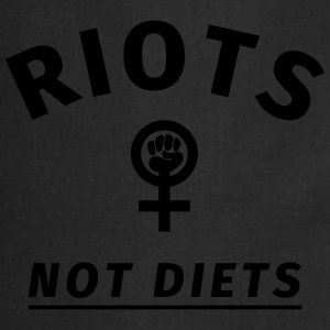 Riots not Diets T-Shirts - Cooking Apron