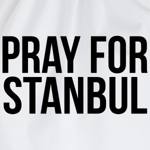 PRAY FOR ISTANBUL (PRAY FOR ISTANBUL) T-Shirts - Drawstring Bag