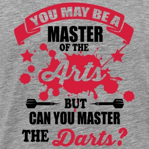 Can you master the darts Tank Tops - Camiseta premium hombre