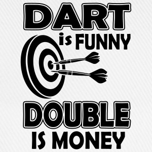 Dart is funny double is money Canotte - Cappello con visiera