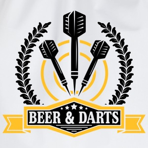 Beer and darts Magliette - Sacca sportiva