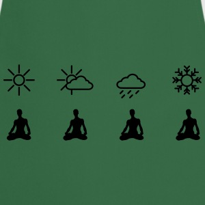 Yoga Pilates Weather T-Shirt T-Shirts - Kochschürze