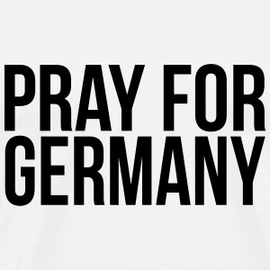 Pray for Germany Hoodies & Sweatshirts - Men's Premium T-Shirt