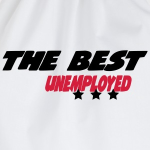The best unemployed  Aprons - Drawstring Bag