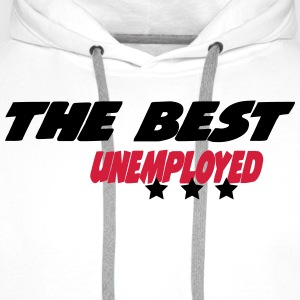 The best unemployed  Aprons - Men's Premium Hoodie