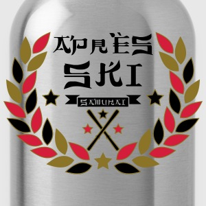 Apres Ski Samurai T-Shirts - Water Bottle