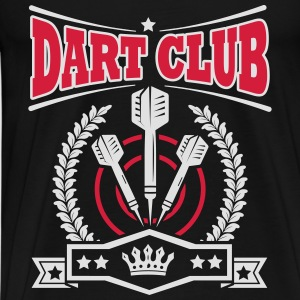 Dart Club Tops - Männer Premium T-Shirt