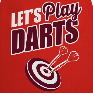 Let's play darts T-Shirts - Cooking Apron