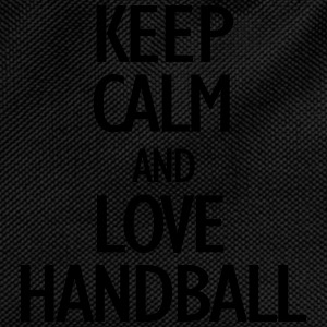 keep calm and love handball Caps & luer - Ryggsekk for barn