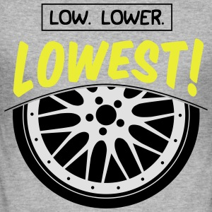Low, Lower, Lowest! - Männer Slim Fit T-Shirt