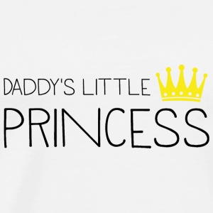 Daddy's little Princess Bags & Backpacks - Men's Premium T-Shirt