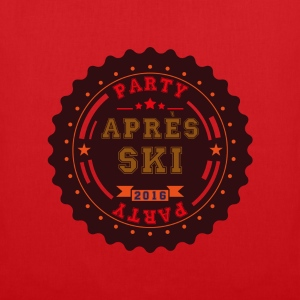 Apres Ski Party Logo T-Shirts - Stoffbeutel