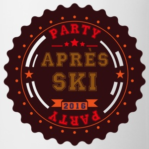 Apres Ski Party Logo Buttons - Mug