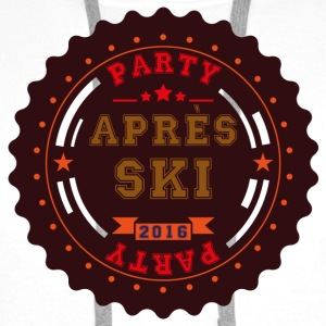Apres Ski Party Logo Buttons - Men's Premium Hoodie