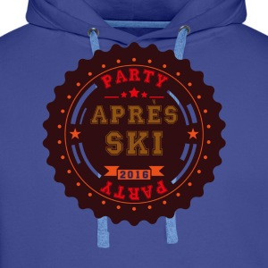Apres Ski Party Logo T-Shirts - Men's Premium Hoodie