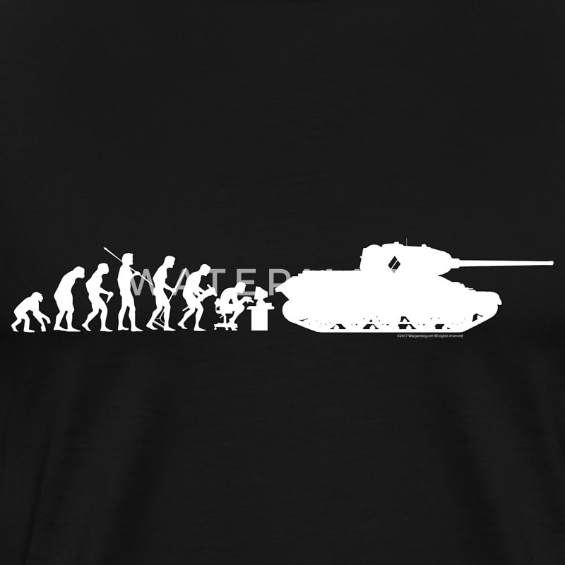 World of Tanks Darwin Männer T-Shirt - Männer Premium T-Shirt