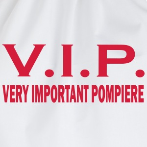 Very important pompiere T-shirts - Gymtas