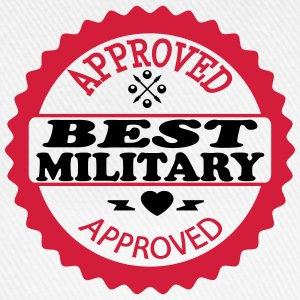 Approved best military T-shirts - Baseballcap