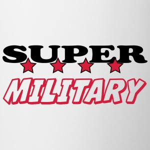 Super military T-shirts - Kop/krus
