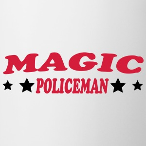 Magic policeman T-shirts - Kop/krus
