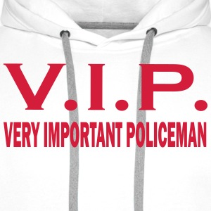 Very important policeman T-Shirts - Men's Premium Hoodie