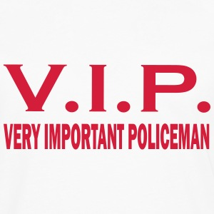 Very important policeman T-Shirts - Men's Premium Longsleeve Shirt
