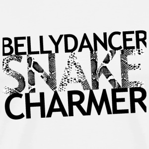 snakecharmer top white - Männer Premium T-Shirt