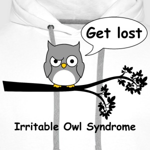 Irritable owl syndrome 3 T-Shirts - Men's Premium Hoodie