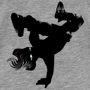 Hip Hop dancer - Männer Premium T-Shirt