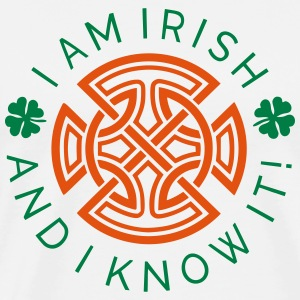Irish And I Know It - Ornament 2C Tops - Männer Premium T-Shirt